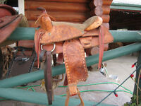 Kids western saddle
