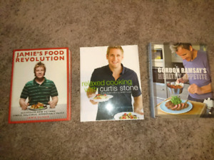 Cook books almost like new