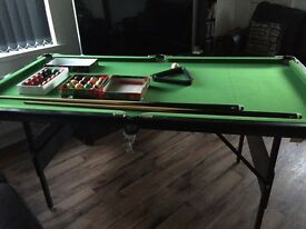6ft x 3ft Snooker Table