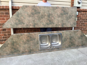 Counter Top with Sink