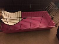 Large Indoor Rabbit or Guinea Pig Cage