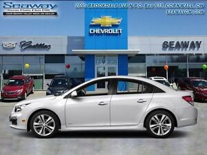 2016 Chevrolet Cruze Limited LT  -  Bluetooth -  A/C - Low Milea