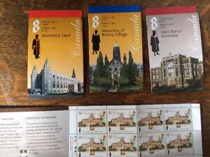 Universities of Canada Stamp Sheet
