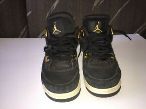 "Nike Air Jordan 4 Retro BG ""Royalty""  Shoes Size 6.5Y"