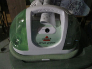 BISSELL LITTLE GREEN CARPET AND UPHOLSTERY CLEANER