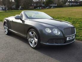 image for 2012 Bentley Continental 6.0 FlexFuel GTC Auto 6Spd 4WD 2dr Convertible Bi Fuel