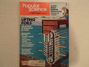 Vintage Popular Science Magazine February 1978 GC