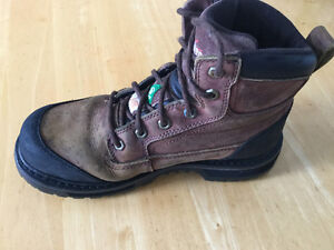 Men's Work toe boots size 7