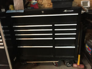 Tool boxes and work bench