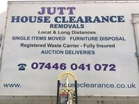 MAN AND VAN VISIT OUR WEBSITE (JUTT REMOVALS)special offer for long distance