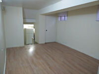 2 Bedroom+large living room Walk-Out Basement apartment
