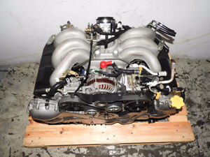 2001-2002-2003-JDM-Subaru-Legacy-Out-Back-EZ30-V6-Engine  2001-