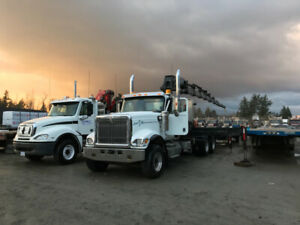 2007 International 5500i with Hiab 422-e8