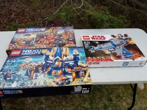 FS: new, sealed Lego sets: Nexo Knights, Star Wars