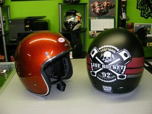 Retro Look Open face Helmets - BELL & Joe Rocket at RE-GEAR
