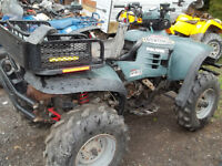 parting out three atvs