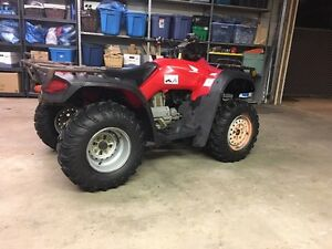 2005 Honda fourtrax 350 4x4 trade for seadoo