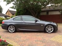 2007 '57' M SPORT BMW 3 SERIES COUPE 320d - PRICE LOWERED