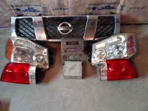 2004 and above Nissan Armada spares