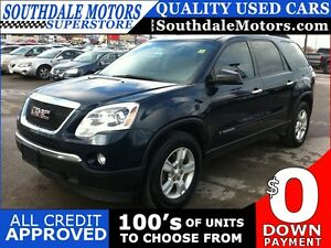 2007 Gmc Acadia | SLE-1 | DVD | Cloth | 7 Seat