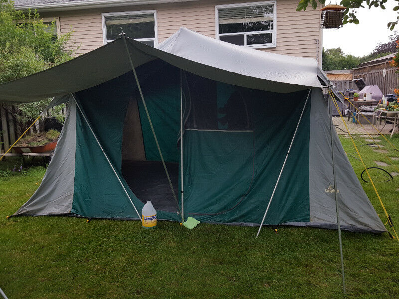 2 Tents Family 8 Person Dining Tent Large Please