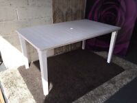 New Futura Outdoor Dining Table