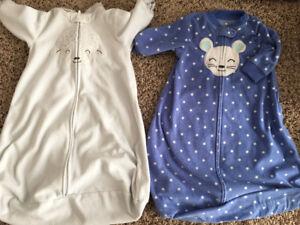 Carters Sleep Sacks / Sleep Bags Size Small