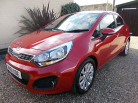 Kia Rio 1.1CRDi ( 74bhp ) ECODYNAMICS DIESEL 6 SPEED 5 DR HATCH 1 LADY OWNER FSH