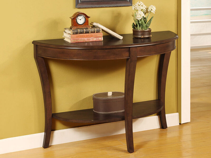 How To Build A Half Round Table Ebay