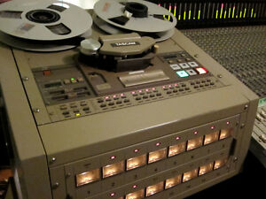 "Tascam MS-16 1"" 16track Tape Machine + 20 tapes"