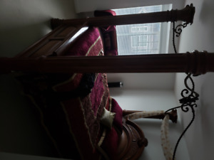 Beautiful Chestnut Bed Frame For Sale