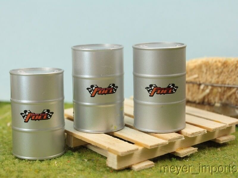 Fuel Drums on Pallet - G Scale - 106-17013