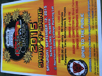 Slave lake show n shine sept 12 come join us for a great day!!