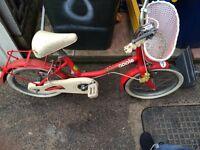 Vintage 1980/90,s kids Raleigh Apple bike