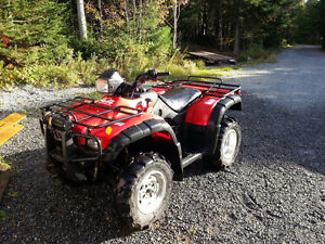 Parting out a 2004 Honda Rubicon 500