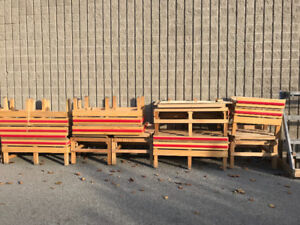 Produce Tables for sale