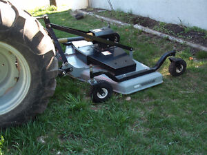3 PTH Finishing Mower & Drag Harrows