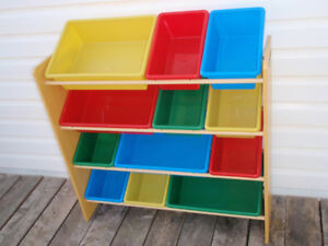 Toy Organizer / Craft Storage Bin