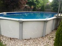 Above Ground Pool 15' x 30'
