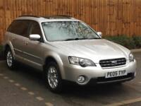 2005 '05' Subaru Outback 2.5 SE, 5 Door Estate, MPV, 4x4, Petrol, Manual.