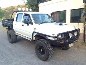 TOYOTA HILUX 1995 TRAY AND BULL BAR WANTED Glenelg Holdfast Bay Preview