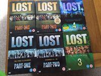 Lost Seasons 1-4 on dvd