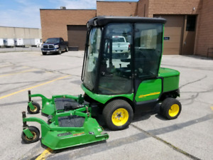 JOHN DEERE 1445 DIESEL 4X4 MOWER SNOWBLOWER AND BROOM