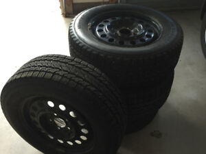 Set of Snow Tires
