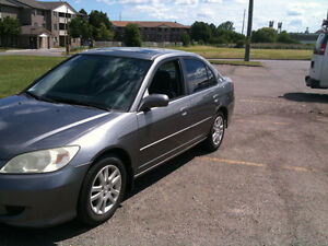 2005 Honda Civic certified and e tested Sedan