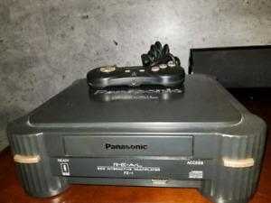 Panasonic 3DO FZ-1 console plus 10 jeux et 6 demo
