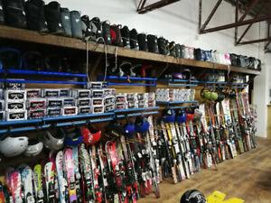 Location d'équipement de ski