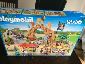 Playmobil - Grand zoo 6634 - NEUF