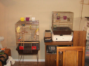 2 bird cages for sale---new price