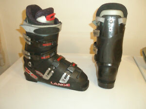 SKI BOOTS LANGE X6 CM 26, MEN'S 8, LADIES 9